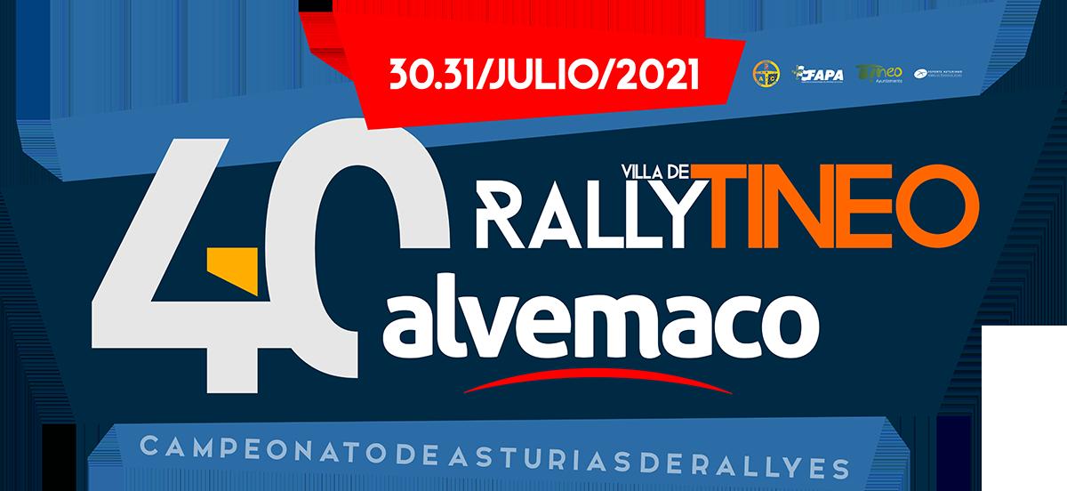 40º RALLY VILLA DE TINEO – ALVEMACO